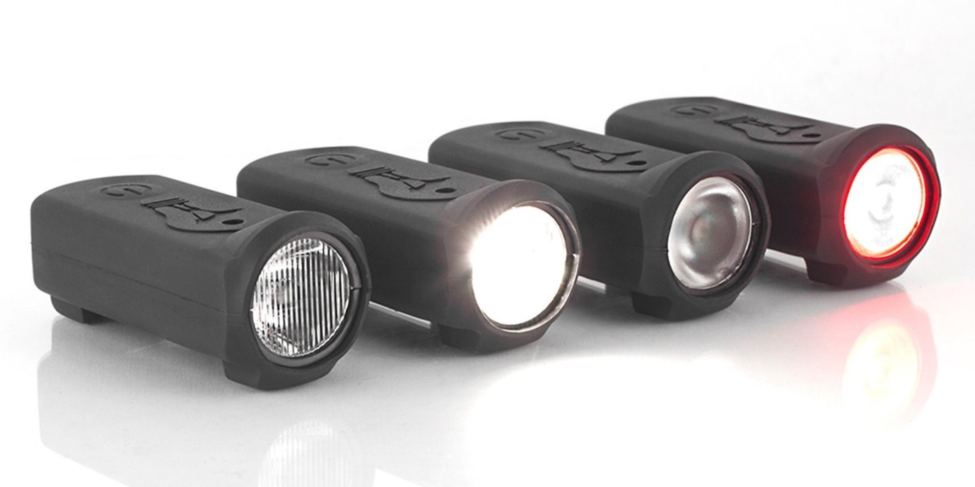Riding at night will be much safer if you bring along reflectors and lights